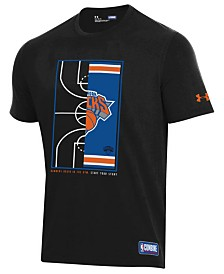 Under Armour Men's New York Knicks Banners Begin in the Gym T-Shirt