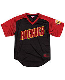 Mitchell & Ness Men's Houston Rockets Final Seconds Mesh V-Neck Jersey