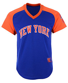 Mitchell & Ness Men's New York Knicks Final Seconds Mesh V-Neck Jersey