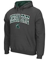 free shipping 98480 704ca Colosseum Men s Michigan State Spartans Arch Logo Hoodie