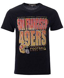 Authentic NFL Apparel Men's San Francisco 49ers Glory Days Retro T-Shirt
