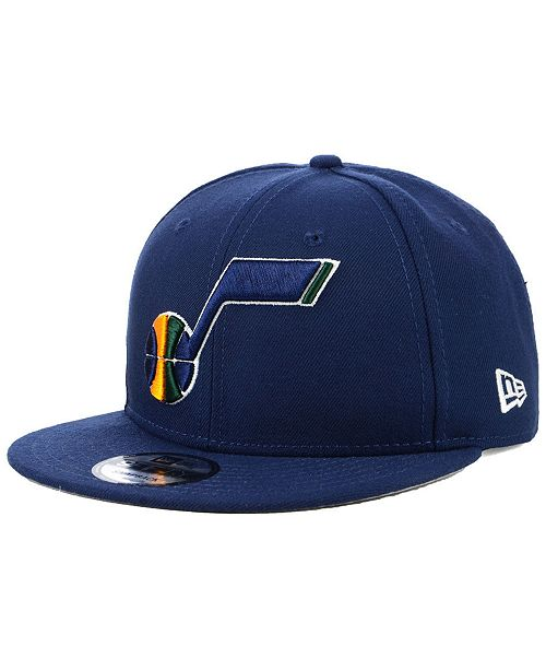 New Era Utah Jazz Basic 9FIFTY Snapback Cap - Sports Fan Shop By ... a3233891255a