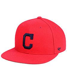 '47 Brand Boys' Cleveland Indians Basic Snapback Cap