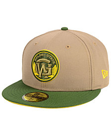 New Era Golden State Warriors Fall 2 Tone Combo 59FIFTY-FITTED Cap