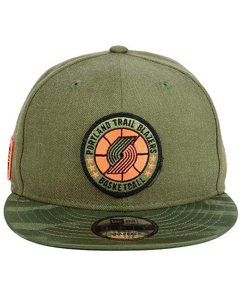 New Era Portland Trail Blazers Tip Off 9FIFTY Snapback Cap - Sports Fan  Shop By Lids - Men - Macy s 4d563856eb