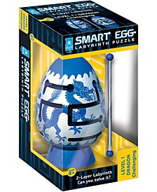 Smart Egg 2-Layer Labyrinth Puzzle - Blue Dragon, Challenging