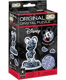 3D Crystal Puzzle - Disney Mickey Mouse, 2nd Edition