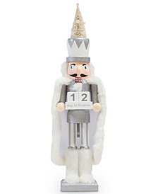 Nutcracker Countdown Silver