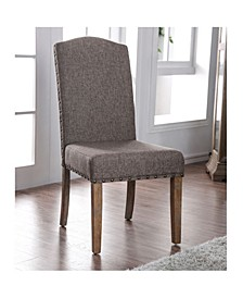 Diez Nailhead-Trimmed Dining Chair (Set of 2)