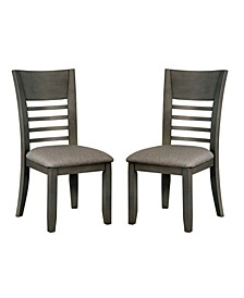 Tristen Transitional Fabric Dining Chair (Set of 2)