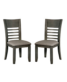 Tristen Transitional Style Fabric Dining Chair