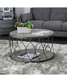 Haverford Wire-Twisted Coffee Table