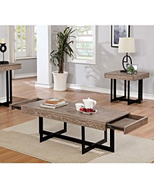 Tanmer Intersecting Base Coffee Table