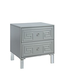 CLOSEOUT Genie Contemporary End Table