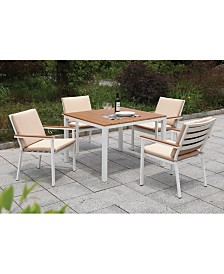 Tinna Two-Tone Outdoor Arm Chair