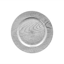 Jay Import Silver Set/4 Charger Plate