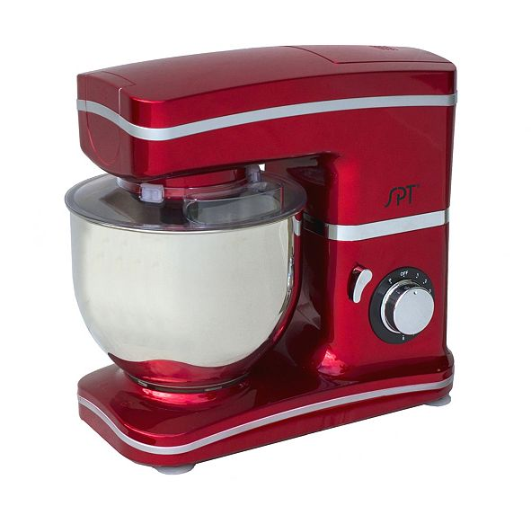 SPT Appliance Inc. SPT 8-Speed Stand Mixer Red