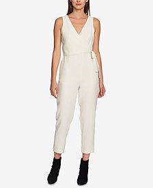 1.STATE V-Neck Wrap Jumpsuit