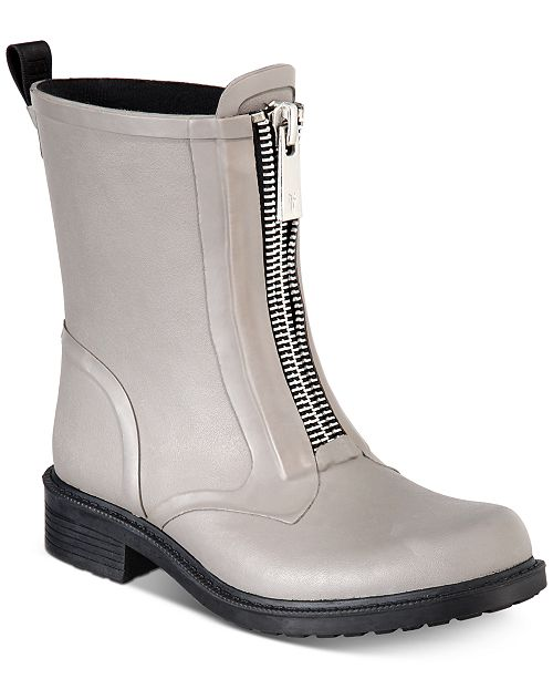 60296f8add3c Frye Women s Storm Zip Rain Boots   Reviews - Boots - Shoes - Macy s