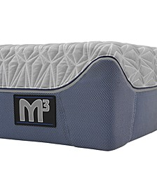 "M3 12"" 1.0 Cushion Firm/3.0 Ultra Plush Hybrid Mattress- King"