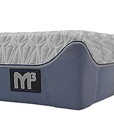 "Bedgear M3 12"" 2.0 Plush/3.0 Ultra Plush Hybrid Mattress- California King"