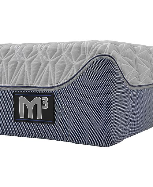 "Bedgear M3 12"" 2.0 Plush/3.0 Ultra Plush Hybrid Mattress- King"