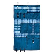 Honey Can Do Over-the-Door Pocket Organizer, Blue
