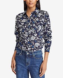 Lauren Ralph Lauren Cotton Voile Shirt