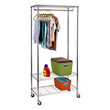 Honey Can Do 3-Shelf Deluxe Garment Rack
