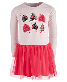 Epic Threads Little Girls Ladybug Tutu Dress, Created for Macy's