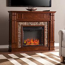 Eldridge Fireplace, Quick Ship