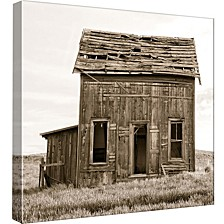 Two Story Farm House Decorative Canvas Wall Art