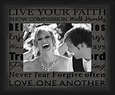 Living 31Live Your Faith II decorative Photo Frame