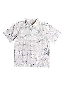 Quiksilver Waterman Men's South China Patterned Shirt