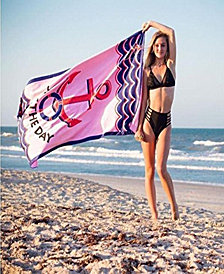 BeachTech HP Beach Towel - Seas The Day