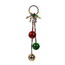 Door Hanging With Decorative Round Bell