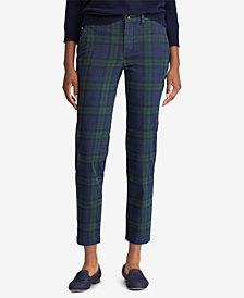 Lauren Ralph Lauren Petite Tartan Skinny Pants