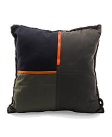 Artist Square Storage Throw Pillow