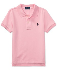 Polo Ralph Lauren Toddler Boys Pique Polo