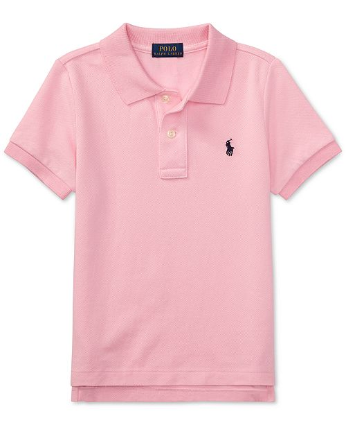 387b64b79 Polo Ralph Lauren Little Boys Pique Polo & Reviews - Shirts & Tees ...