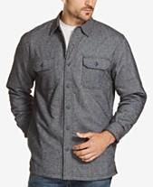 Weatherproof Vintage Men s Fleece Shirt Jacket 6362b7b3957e3