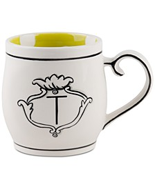 CLOSEOUT! Molly Hatch Monogram Mug, Letter T