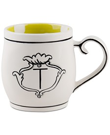 CLOSEOUT! Home Essentials Molly Hatch Monogram Mug, Letter T