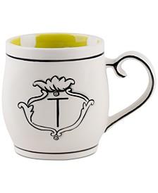 CLOSEOUT! Home Essentials Molly Hatch Monogram Mug, Letter T