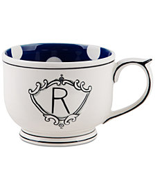 Home Essentials Molly Hatch Monogram Mug, Letter R