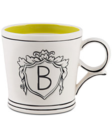Home Essentials Molly Hatch Monogram Mug, Letter B