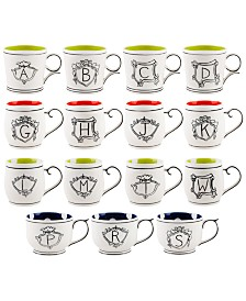 CLOSEOUT! Home Essentials Molly Hatch Monogram Mugs Collection