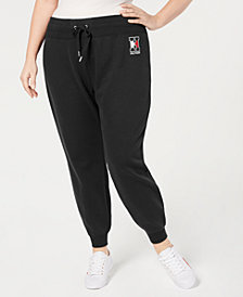 Tommy Hilfiger Plus Size Logo Jogger Pants