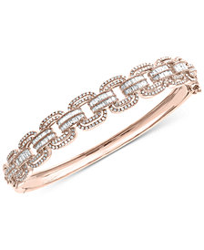 EFFY® Diamond Bangle Bracelet (1-3/4 ct. t.w.) in 14k Rose Gold