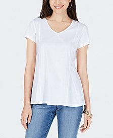 Style & Co Peplum Top, Created for Macy's